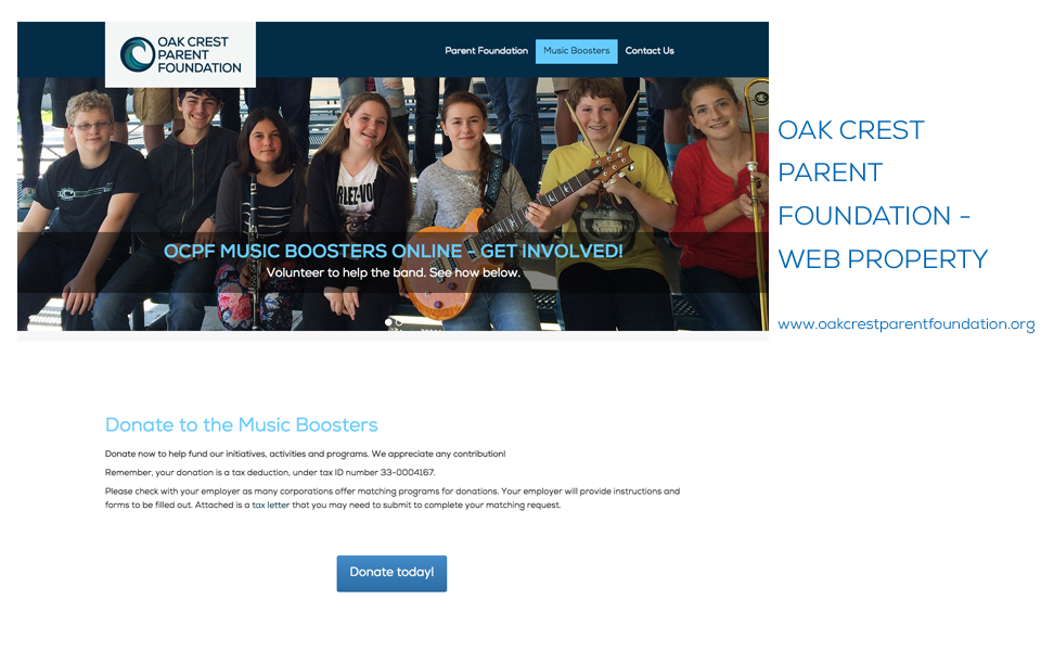 Oak Crest Parent Foundation